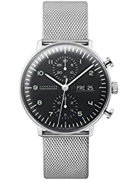 Junghans max bill Chronoscope Herrenuhr 027/4500.44
