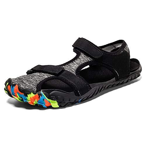 Midumen Sandalias de Playa de Hombres Verano Antideslizantes Senderismo Zapatillas Al Aire Libre Zapatos...