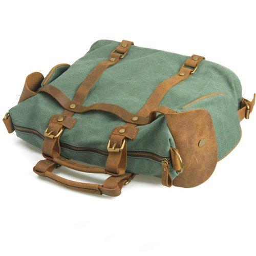 Lazutom , Sac pour homme à porter à l'épaule L(Coral Green) S(Coral Green)