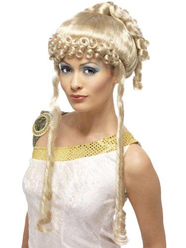 Kostüm Perücke Göttin - Karneval Zubehör Perücke griechische Göttin blond Griechin Kostüm