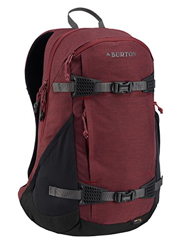 Burton day hiker 25l, zaino sportivo unisex-adulto, fire brick heather, 25 l