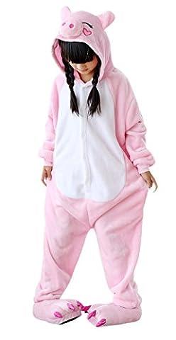 Rilakkuma Costume Pajama - iPerry Enfants Adulte Unisexe Animal Costume Cosplay