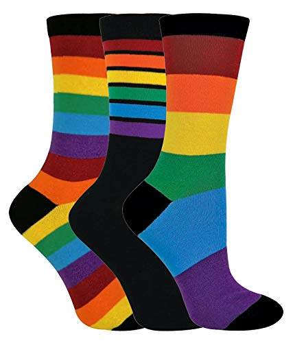 Rainbow Farbiges Kostüm - sock snob - 3er Pack Herren