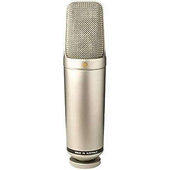Rode Microphones Rode NT1000 Nieren-Kondensatormikrofon mit Tasche und M2-Ständeradapter