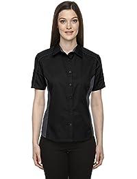 North End Mujer Fusible color-block de sarga Camisas (77042)