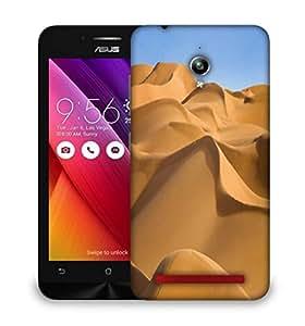 Snoogg Sunny Desert Designer Protective Phone Back Case Cover For Asus Zenfone GO