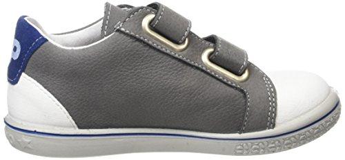 Ricosta  Nippy, Sneakers Basses garçon Gris (Graphit/Weiss 450)