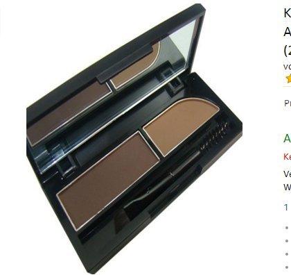 Augenbrauen-Kuchen pwoder Brow Powder Makeup Schatten 2 Farbe mischen natürlichen Augenbrauen (Augenbrauen Kuchen)