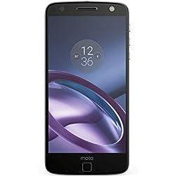 Lenovo Moto Z Smartphone débloqué 4G (Ecran: 5,5 pouces - 32 Go - Double SIM - Android) Noir