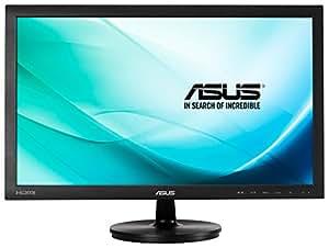 ASUS 90LME2501T02231C Full HD LED Monitor (1920 x 1080, TN, 2 ms, HDMI, DVI-D, D-Sub) - 23.6 inch, Black