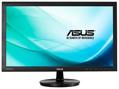 ASUS VS247HR Full HD LED Monitor (1920 x 1080, TN, 2 ms, HDMI, DVI-D, D-Sub) - 23.6 inch, Black