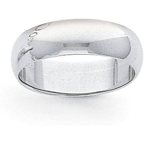 Icecarats Designer Di Gioielli Dimensione 8 8 Millimetri Di Platino Banda Semicircolare Piuma - 8 Millimetri Platinum Wedding Band