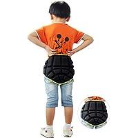 Almohadilla protectora para botones, para niños, para deportes extremos, hipopótamo, esquí, snowboard, patinaje, protección de la cadera, acolchada, pantalones cortos de impacto (niños menores de 12 años)