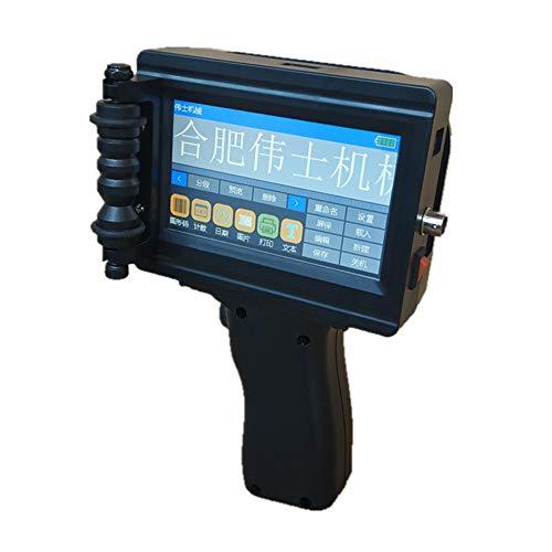 LDJC Hand Tintenstrahldrucker Catridge, Hand Intelligent Inkjet Printer 360 ° Druck Produktion Datum Zweidimensionale-Code Karton Drucker