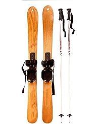 DONG Alta calidad / madera / Ash / Madera / anticongelante / esquí / doble placa , 130cm