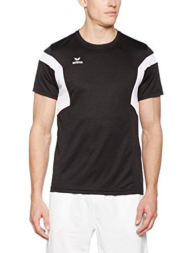 Erima Herren Classic Team T-Shirt schwarz/Weiß