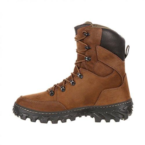 Rocky Boots RKS0273 W Jungle Hunter Brown/Wasserdichter Herren Schnürstiefel Braun/200 Gramm Thinsulate Isolierung Brown (Weite W)
