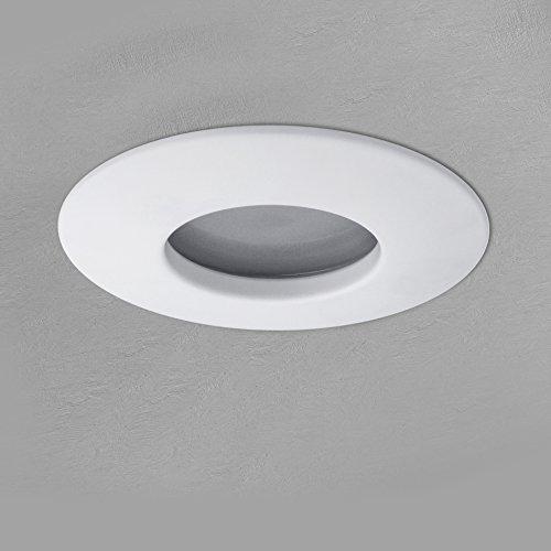 LED Einbau-Strahler Set [6 Stück] Decken-Leuchte, Typ RW-1 in weiß für Feuchträume Bad Dusche IP65, 6W WARM-weiß 230V [IHR VORTEIL: leichter EINBAU, tolle LEUCHTKRAFT, LICHTQUALITÄT und VERARBEITUNG] für Innen Außen – #980 - 6
