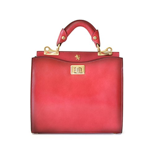 Pratesi Anna Maria Luisa de' Medici petit sac à main - S150/26 Santa Croce (Violet) Rose