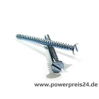 300 Stück Schrauben für Schalterdosen Geräteschrauben 3,2 mm Ø je 100 15/25/40 mm