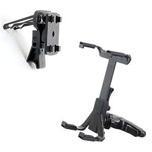 Loctek support voiture universel avec un support de ventilation pour iPad/iPad2/GPS/DVD/eBook /LCD