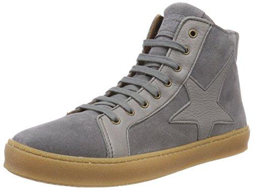 Bisgaard Unisex-Kinder 31814218 Hohe Sneaker, Grau (402 Grey Suede), 38 EU