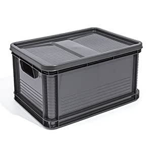 20 liter lagerkiste euro box stapelbox transportbox mit. Black Bedroom Furniture Sets. Home Design Ideas
