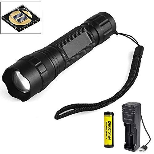 IR Taschenlampe, LUXJUMPER IR 940nm Infrarot Taschenlampe, Infrarotlicht Nachtsicht Taschenlampe Einstellbarer Fokus, für Nachtsichtgeräte