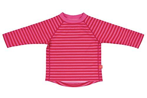 Lässig Splash & Fun Long Sleeve Rashguard / Baby Badeshirt / UV-Schutz 50+  girls, S / 6 Monate, pink stripes