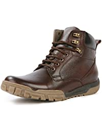 Bacca Bucci Men Brown Genuine Leather Boots