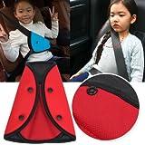 Child Safety Cover Harness Strap Car Adjuster Pad Kids Seat Belt Seatbelt Clip
