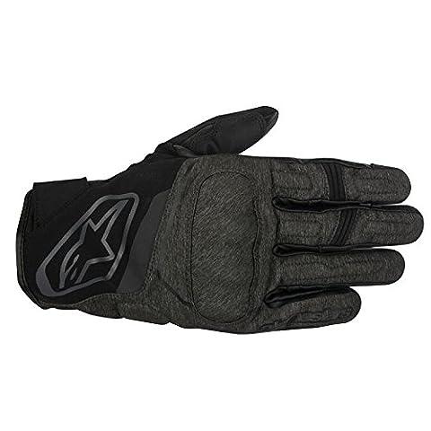 Alpinestars Syncro Drystar Waterproof Motorcycle Gloves - Black/Grey M