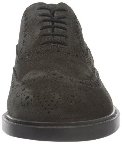 Fratelli Rossetti Herren 44842 Brogue-Schuhe Grigio (Antracite)