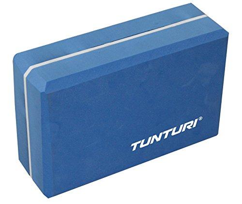 Tunturi-Fitness 14TUSYO018 Tunturi Bloque de yoga, Azul/Blanco
