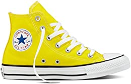 converse platform gialle