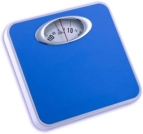 MCP Analog Blue Weight Machine Capacity 120Kg Manual Mechanical Full Metal Body Analog Weighing Scale (Blue)