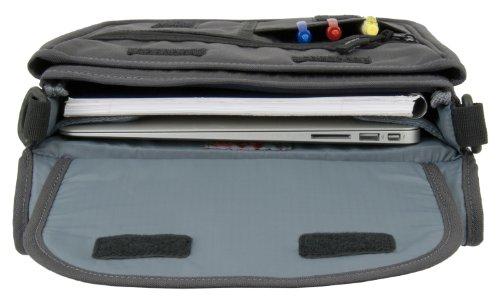 Alley Umhängetasche/iPad Pro 33cm–Carbon