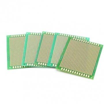 Single-circuit (5er 70x90mm DIY Löten Prototype Copper PCB Printed Circuit Board Single Side)