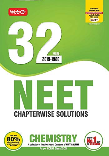 32 Years NEET-AIPMT Chapterwise Solutions - Chemistry 2019