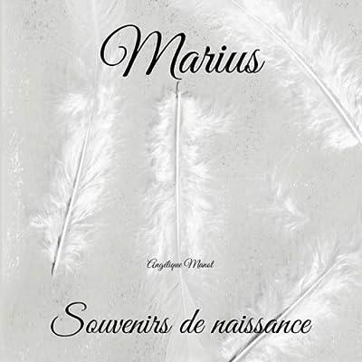 MARIUS Souvenirs de naissance: album à compléter et personnaliser avec vos photos