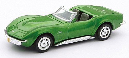 1969-chevrolet-corvette-newray-48544b-green-143-die-cast