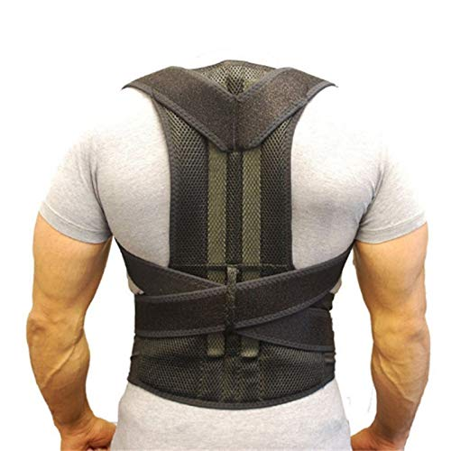 H&Y Back Posture Corrector for Women & Men - Effective and Comfortable Posture Brace for Slouching & Hunching - Discreet Design - Clavicle Support (Dog Leg Bands)