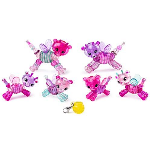 Twisty Petz 6053524 Hummelbär-Familienset, Armband, Serie 3, Familien 6er Set, Tier und Armbandset für Kinder ab 4 Jahren zum Sammeln, Multicolour