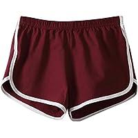 ILOVEDIY Damen Sport-Shorts/Retro-Shorts