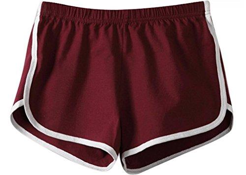 ILOVEDIY Damen Shorts Pants Retro Panty Vintage Sporthose