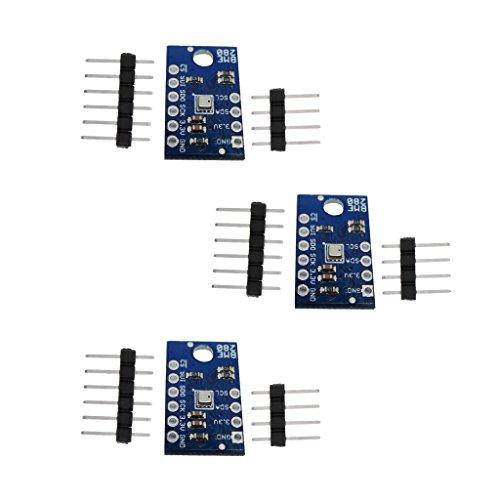 Sharplace 3pcs Luftdrucksensor Temperatur Feuchtigkeit Luftdruck BME280 Sensormodul