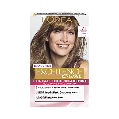 L 'Oréal Paris - Excellence Crème, Färbemittel, 3-fach-Schutz, Nr. 01s (Mechas De Colores)