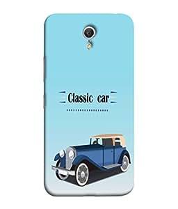 PrintVisa Classic Car 3D Hard Polycarbonate Designer Back Case Cover for Lenovo ZUK Z1