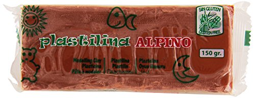 Alpino DP000078 – Plastilina, color marrón