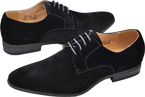 Schnürschuh, für Herren, mit Futter aus Leder, Schuhe, für Feiern, Hochzeit NOIR S 558